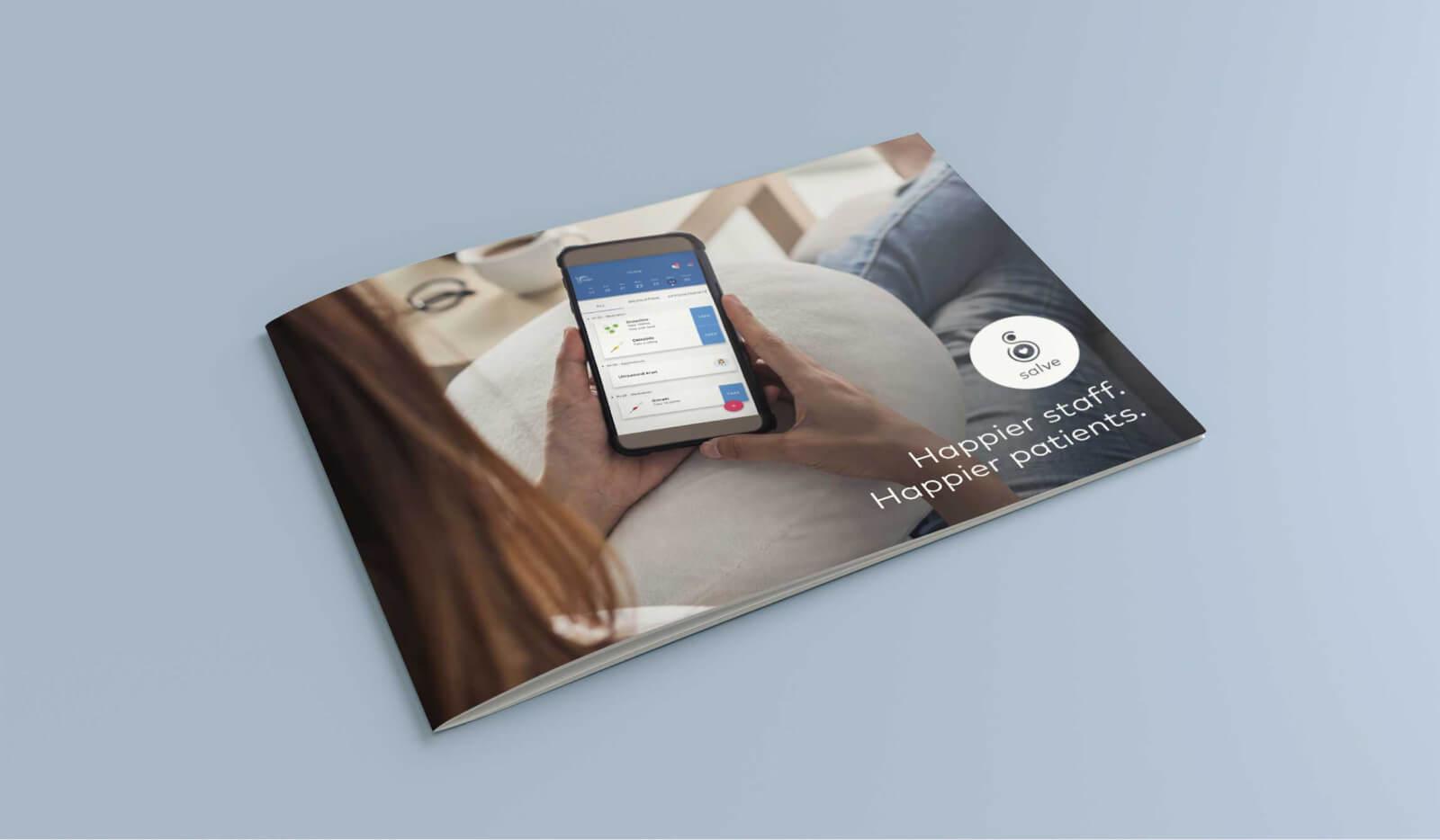 salve print brochure